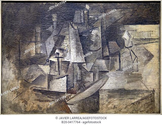 """""""La Coiffeuse"""", 1911, Pablo Picasso, Centre Pompidou, Paris, France, Europe"""