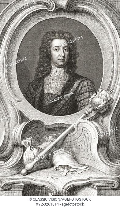 """Henry Boyle, 1st Baron Carleton, 1669 â. """" 1725. Anglo-Irish politician. Lord of the Treasury and Chancellor of the Exchequer"""