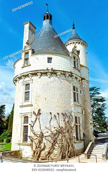 Castle Chenonceau: The Marques Tower (France)