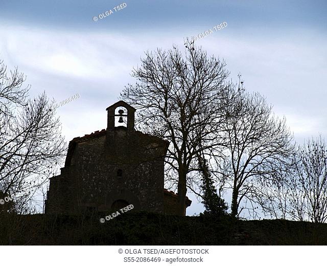 Little church, Rupit, Catalonia, Spain