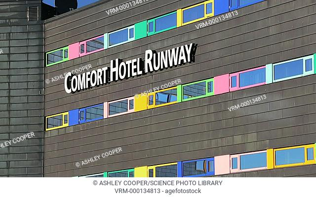 The Comfort Airport hotel outside Oslo airport, Norway