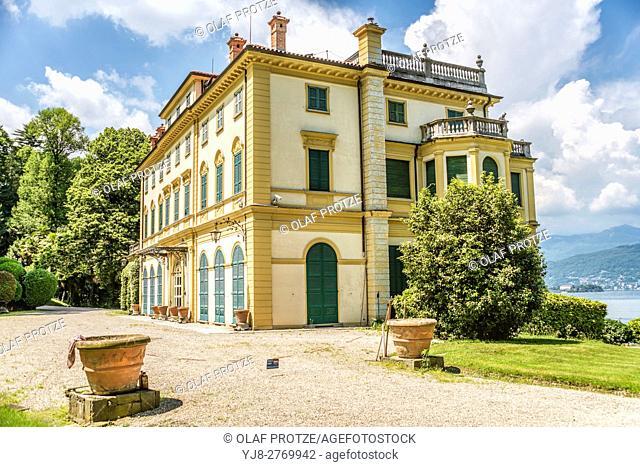 Villa Pallavicino of Stresa at Lago Maggiore, Piemont, Italy | Villa Pallavicino bei Stresa am Lago Maggiore, Piemont, Italien
