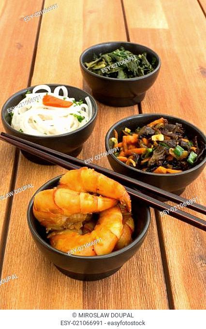 Asian vegetarian food