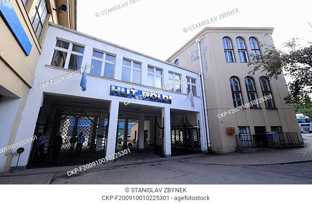 ***FILE PHOTO FROM OCTOBER 1st, 2009***  Bankrupt Kladno-based steelworks Poldi fetched Kc261m at auction today, on Thursday 12, 2018, and the best bidder