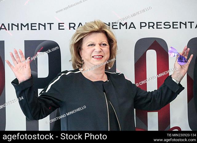 The director Giuliana Gamba during the photocall, Rome, ITALY-23-06-2020