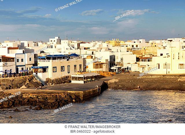 Old harbour, El Cotillo, Fuerteventura, Canary Islands, Spain