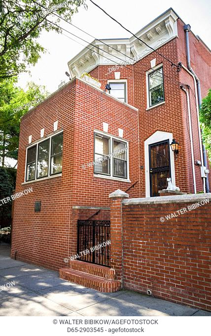 USA, New York, Corona-Queens, Louis Armstrong House Museum, home of jazzman Louis Armstrong