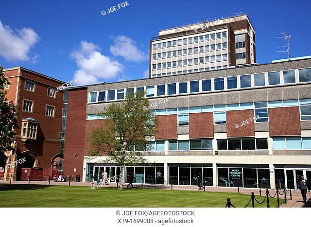 peter froggat centre in Queens University Belfast Northern Ireland UK