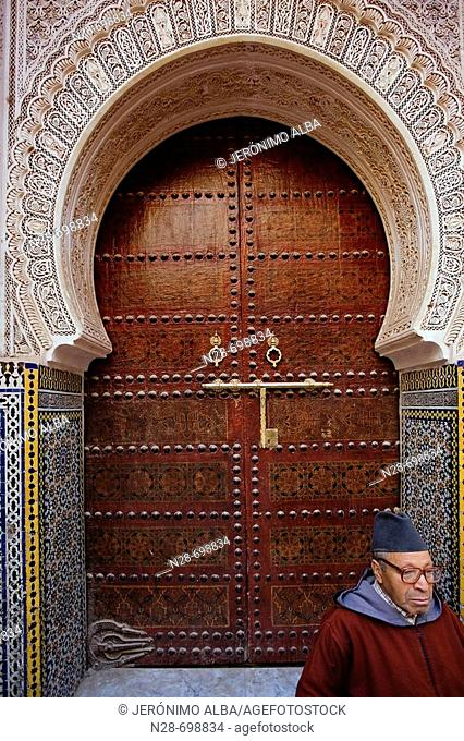 Moulay Idriss Mosque. Fes. Morocco