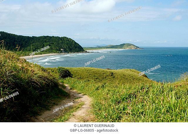 Beach, Ilha do Mel, Encantadas, Paraná, Brazil