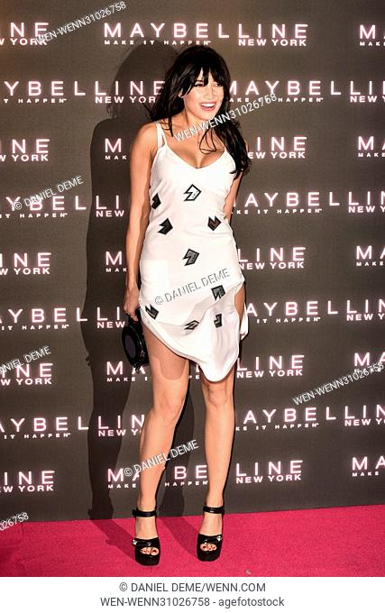 Maybelline Bring on the Night Party held at The Scotch of St James - Arrivals Featuring: Daisy Lowe Where: London, United Kingdom When: 18 Feb 2017 Credit:...