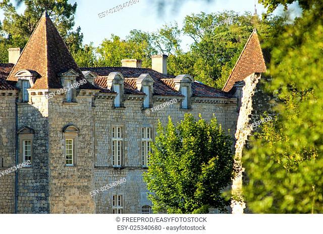 Chateau de Cazeneuve, Prechac, Bordeaux region, France