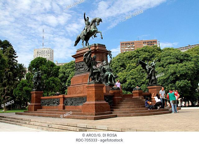 Equestrian statue, Buenos Aires, Argentina