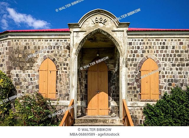 St. Kitts and Nevis, St. Kitts, Dieppe Bay, town church