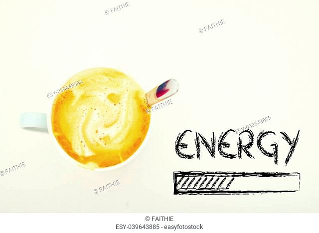 coffee and energy loading