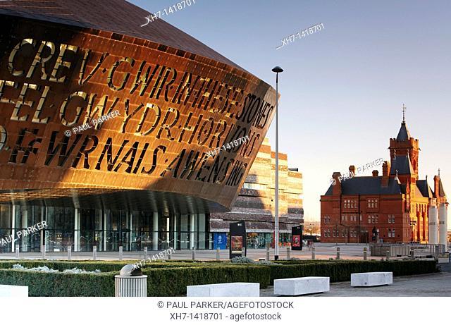 Millennium Centre, Cardiff Bay, Cardiff, Wales, UK