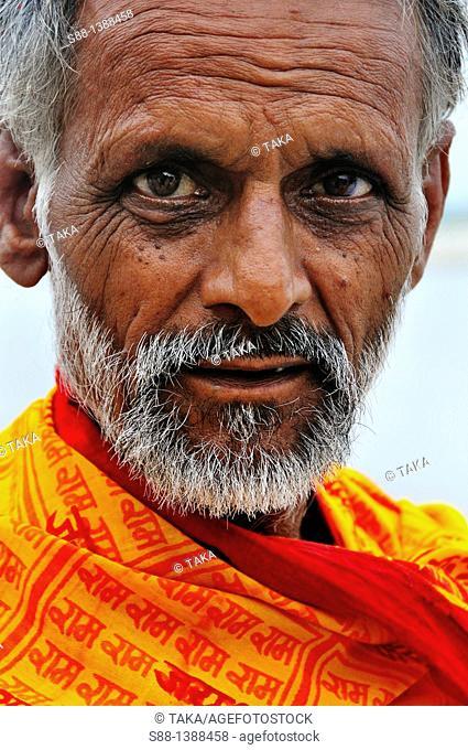 Sadhu at the Ganges River