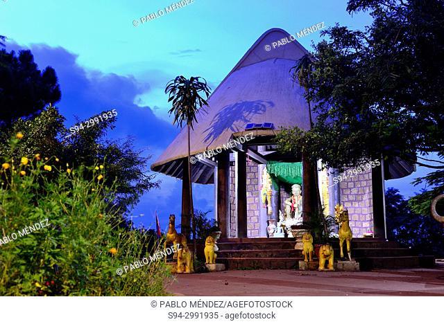 Cabin in Phnom Doh Kromom hill, Sen Monorom, Cambodia