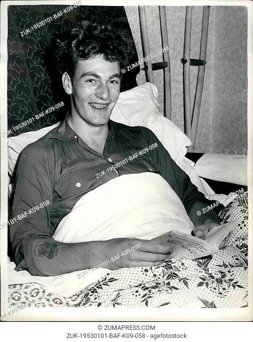 Jan. 01, 1953 - N.C.O. Hero Wins The M.M. And For Gets How He Silenced Enemy Gun In Korea: Twenty year old L/CPL. Robert Manning of B. Company, 1st