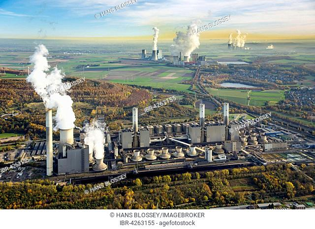 Frimmersdorf Power Station, Neurath Power Station, BoA 2 and 3, Niederaussem Power Station, Frimmersdorf Power Station, RWE Power, lignite power plant