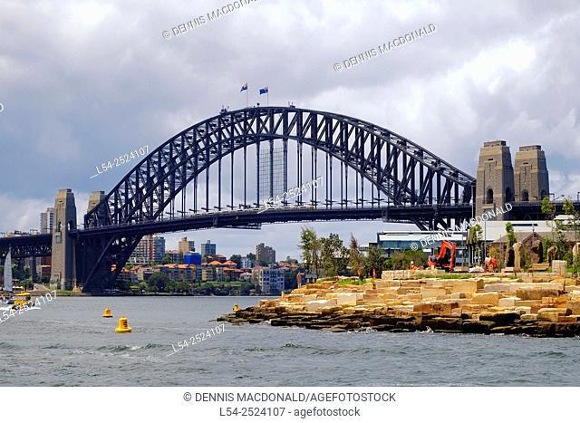 Sydney Harbour Bridge Rocks Australia New South Wales AU