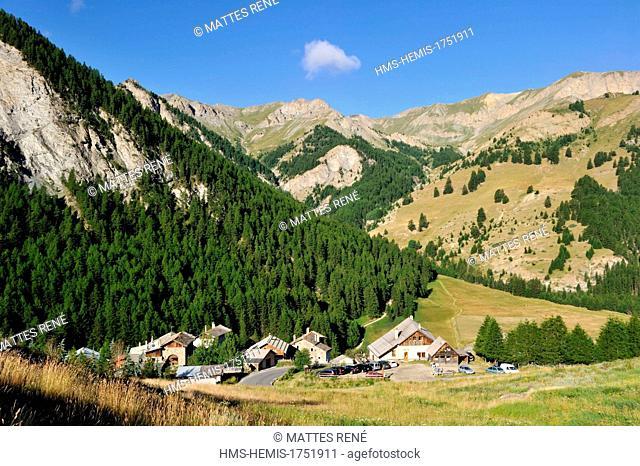 France, Hautes Alpes, Queyras Regional Natural Park, Molines en Queyras