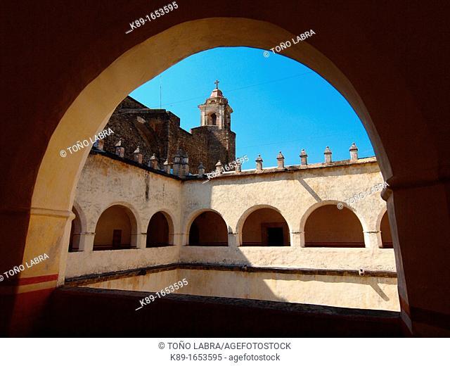 Cloister. Natividad convent. 1570. Tepoztlan. Mexico