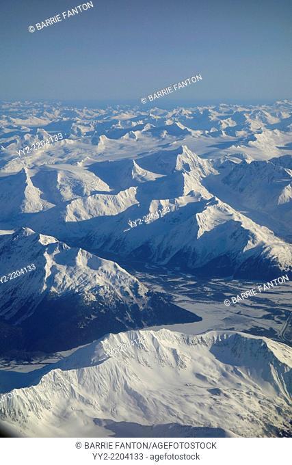 Glaciers, Anchorage, Alaska, United States, North America