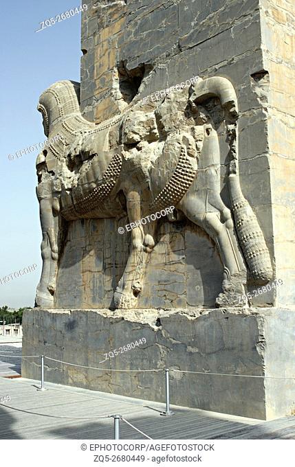 Iran. Persepolis- Xerxus gateway