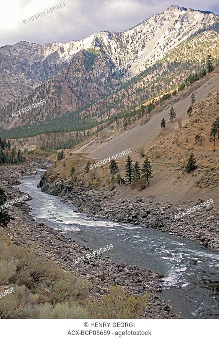 Thompson river near Lytton, British Columbia, Canada