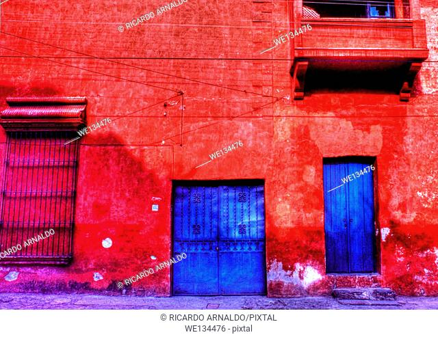 Cuernavaca Street, Mexico
