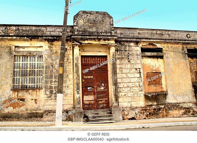 Building, Historic Center, Cidade Alta, Natal, Rio Grande do Norte, Brazil