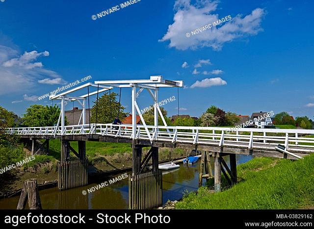 Hogendiekbrck in Steinkirchen, Altes Land, Landkreis Stade, Lower Saxony, Germany