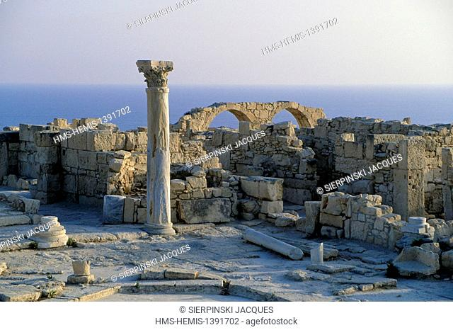 Cyprus, Limassol district, Kourion archaeological site, former Greco-Roman city