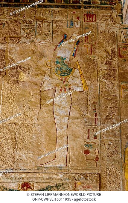 Egypt, New Valley Gouvernement, Hatshepsut Temple