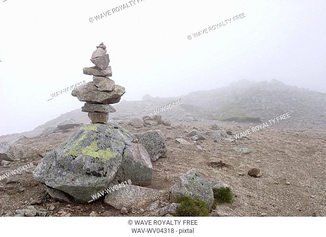 Stones on the top of the mountain, Tatra Mountains, Poland
