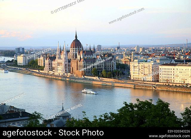 Budapest late afternoon