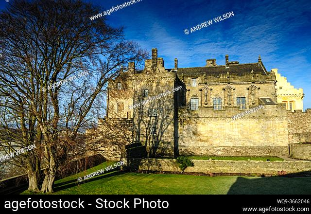 Stirling Castle, Stirlingshire, Scotland