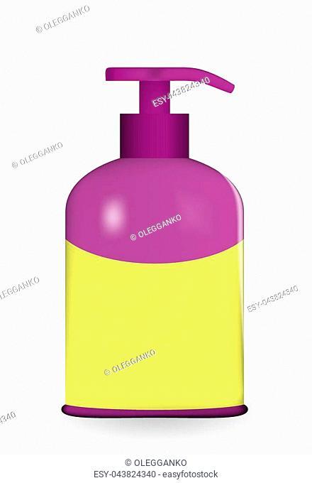 Layout jars filled on white background. Vector illustration. EPS10