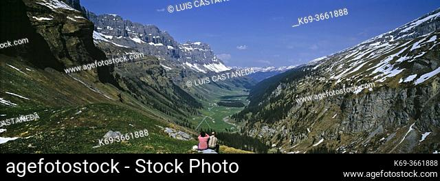 Klausen Pass (German: Klausenpass) (el. 1948 m. ) is a high mountain pass in the Swiss Alps connecting the cantons of Uri and Glarus