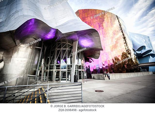 The Experience Music Project is a museum, Seattle, Washington State
