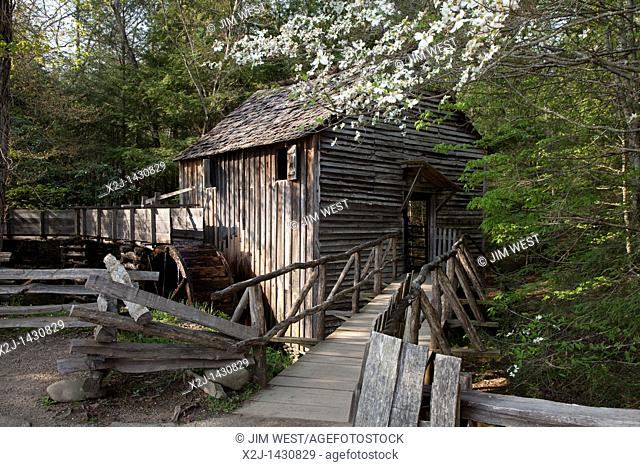 Great Smoky Mountains National Park, Tennessee - The John P  Cable Grist Mill in Cades Cove