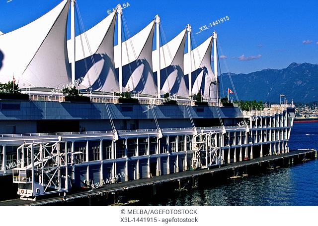 Canada Place convention center, Vancouver  British Columbia, Canada
