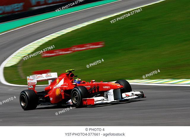 25.11.2011- Friday Practice 1, Felipe Massa BRA, Scuderia Ferrari, F-150 Italia