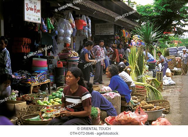 Morning  market  Denpasar, Indonesia