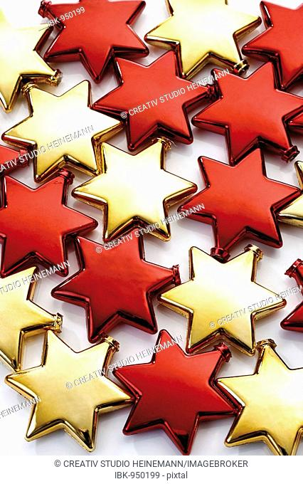 Red and golden stars