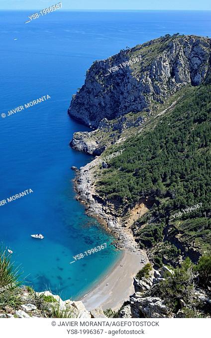 Cap de Menorca, Mediterranean Sea, Islands, Majorca, Spain