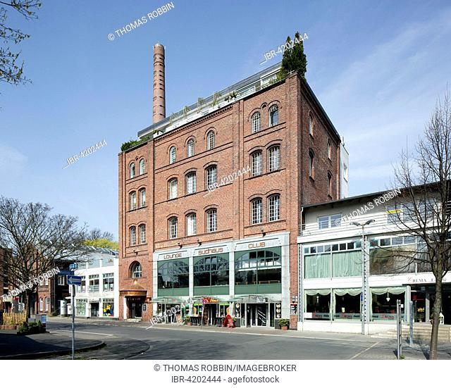 Cultural centre Lindenbrauerei with community college, public library and municipal archives, Unna, Ruhr district, North Rhine-Westphalia, Germany