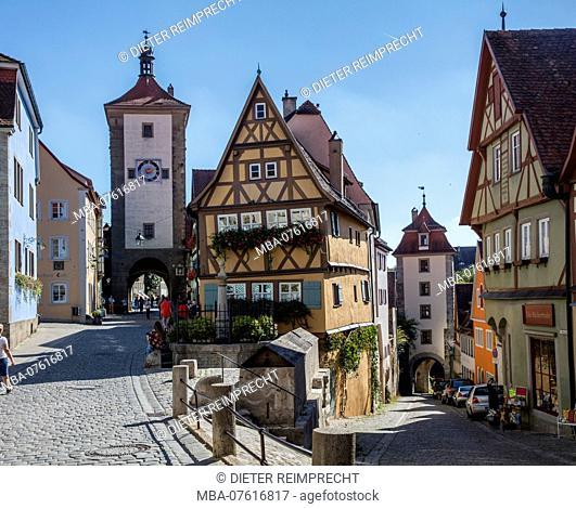 Rothenburg ob der Tauber, old town