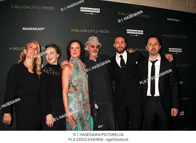 """Sam Taylor-Johnson, Odessa Young, Juliette Lewis, Billy Bob Thornton, Aaron Taylor-Johnson, Giovanni Ribisi 12/04/2019 The Los Angeles Special Screening of """"""""A..."""